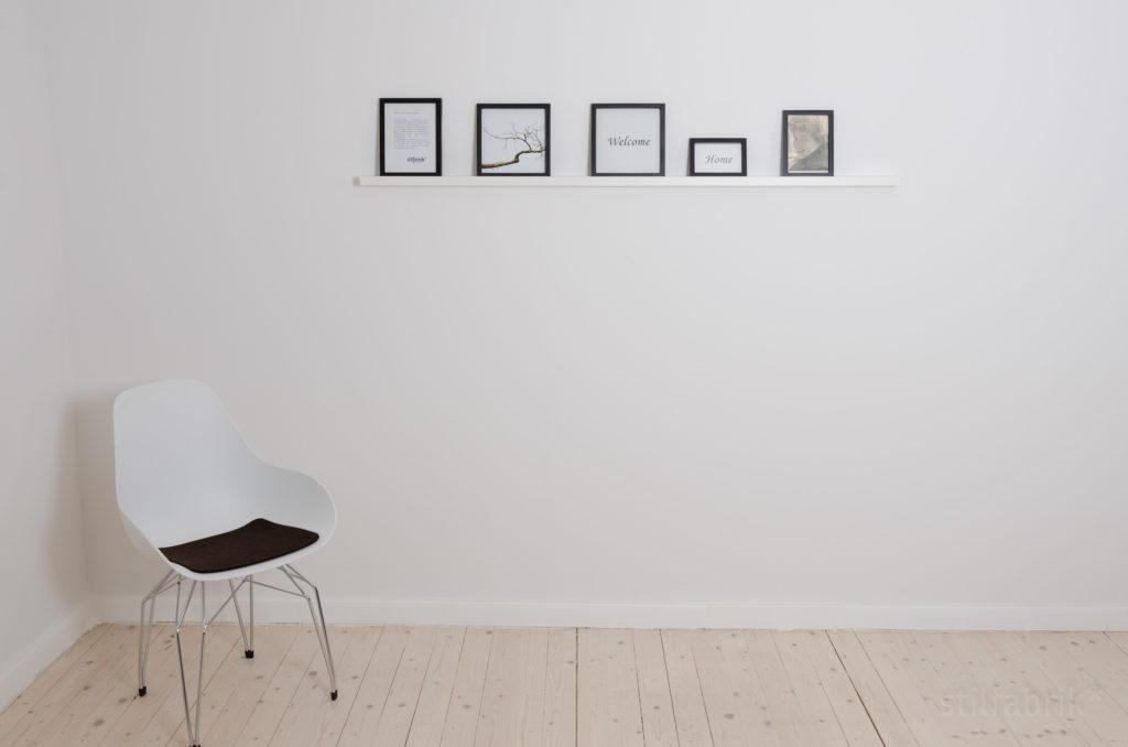 schreiner+designer Bilderleiste weiß